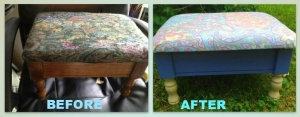 footstool collage