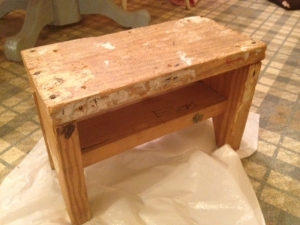 old step stool